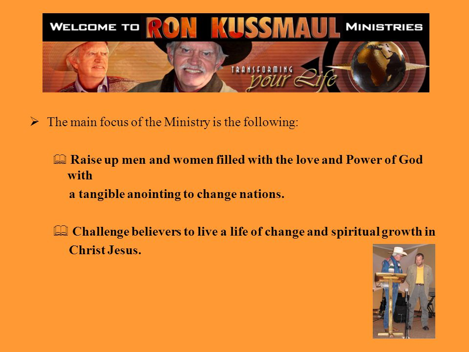 The main focus of the Ministry is the following: