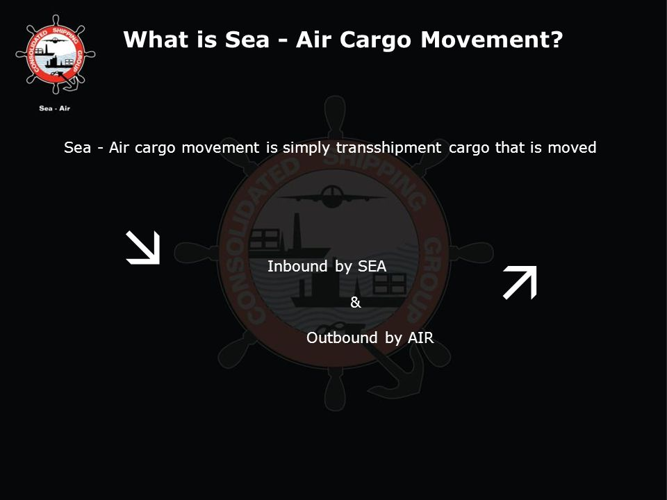 What is Sea - Air Cargo Movement