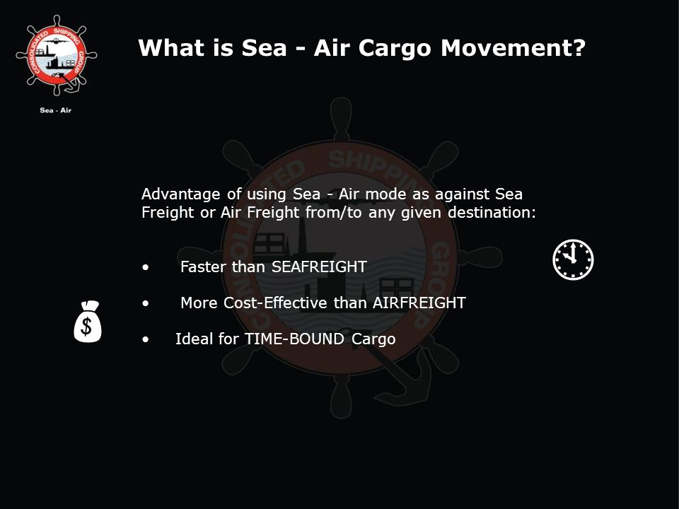   What is Sea - Air Cargo Movement