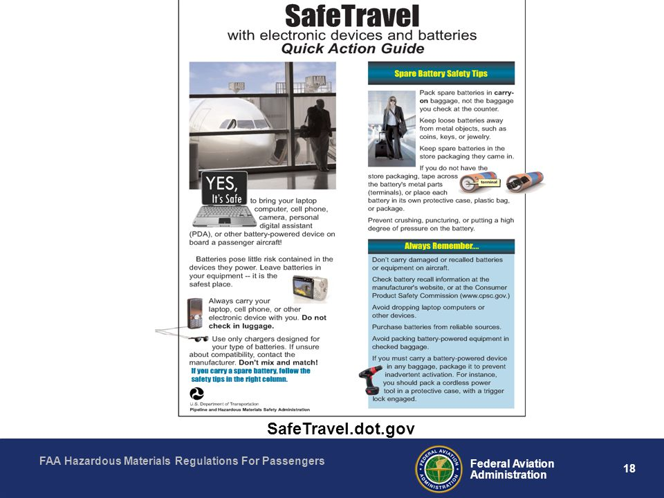 SafeTravel.dot.gov What does that mean