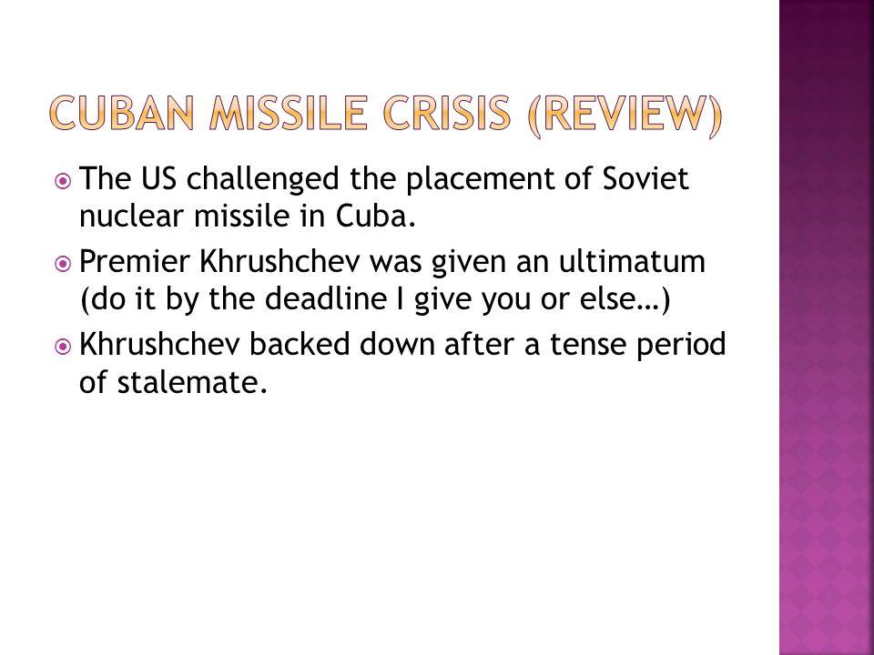 Cuban missile crisis (review)