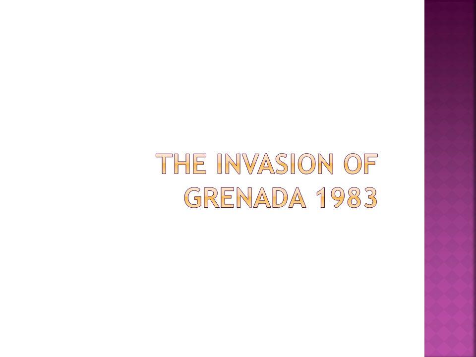 The invasion of grenada 1983