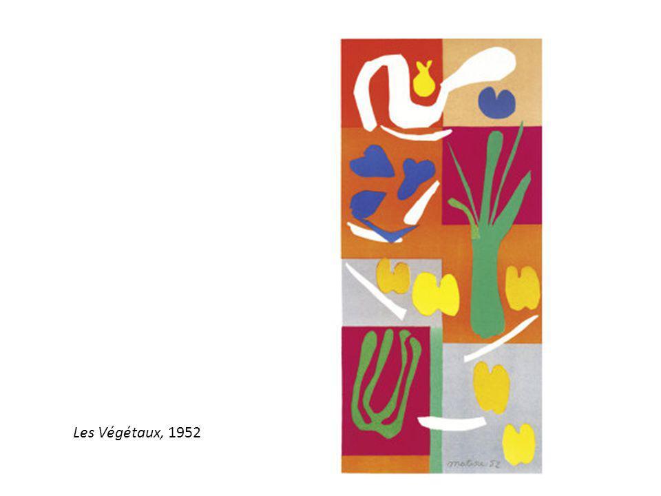Les Végétaux, 1952