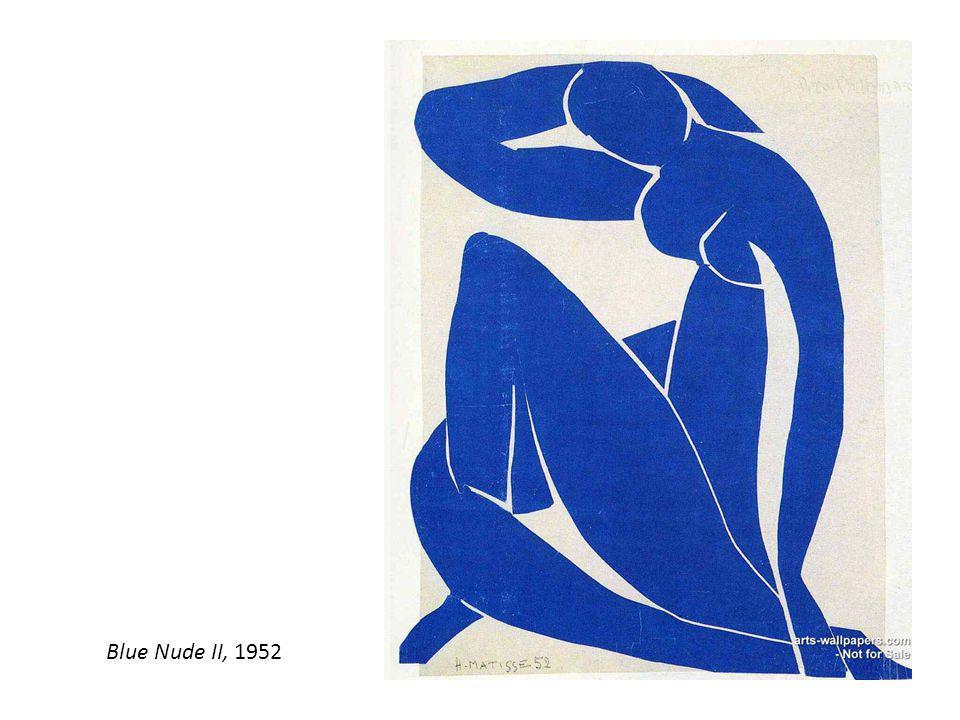 Blue Nude II, 1952