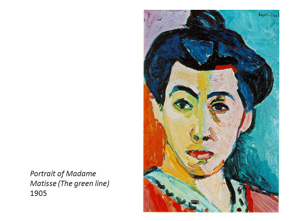 Portrait of Madame Matisse (The green line)