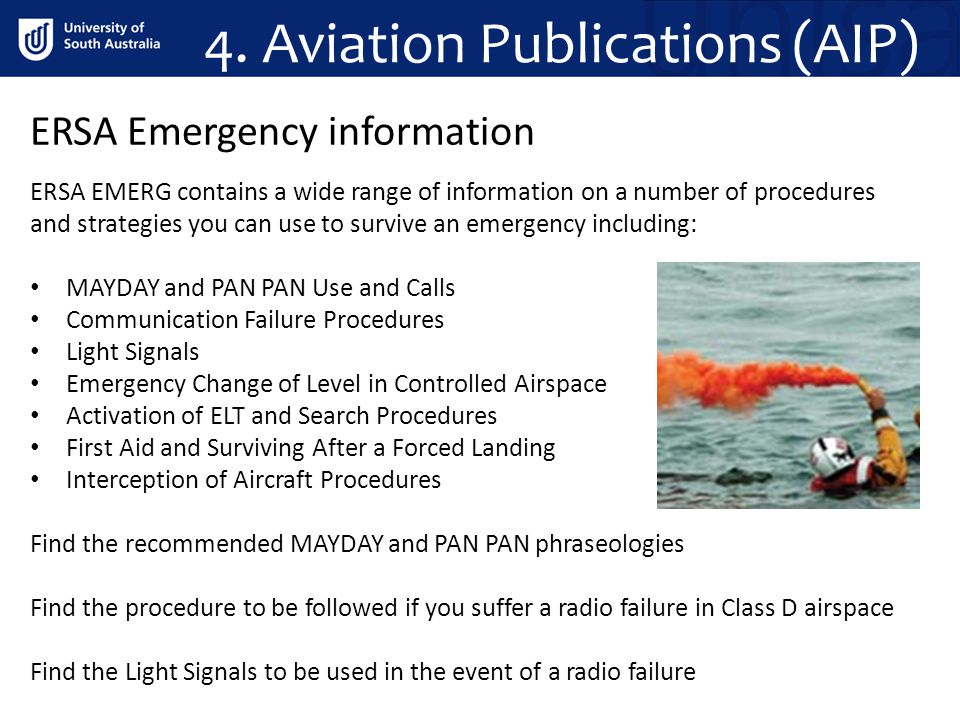 4. Aviation Publications (AIP)