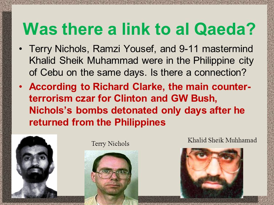Was there a link to al Qaeda