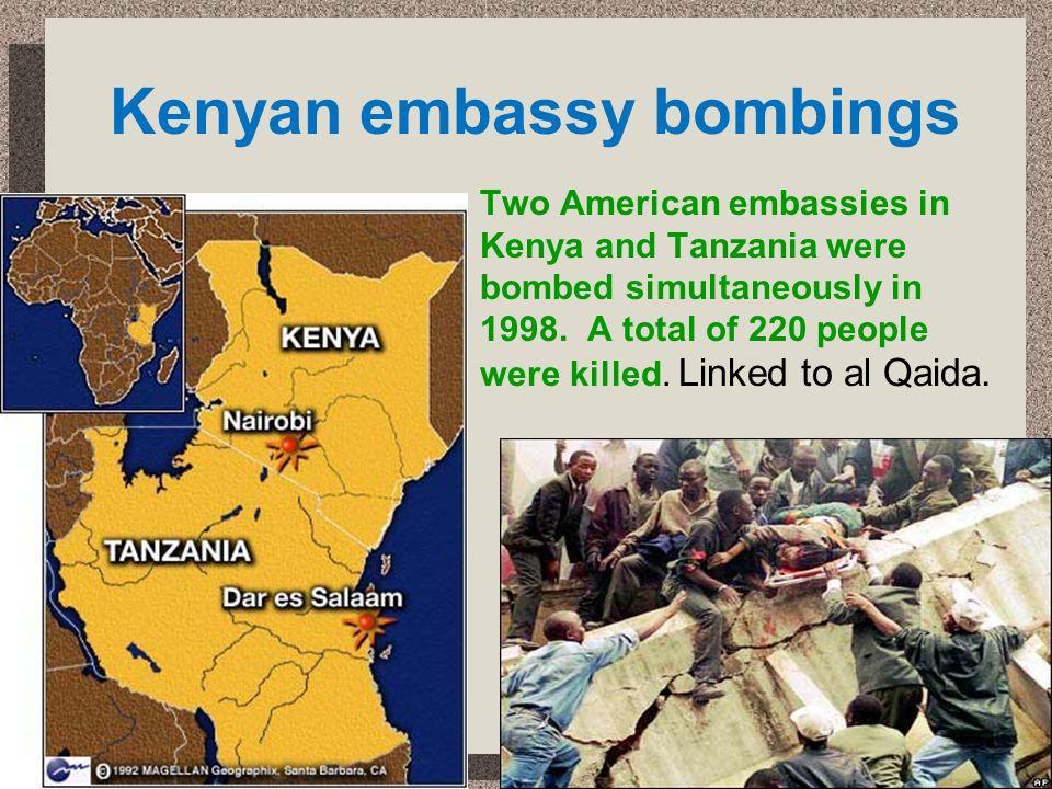Kenyan embassy bombings