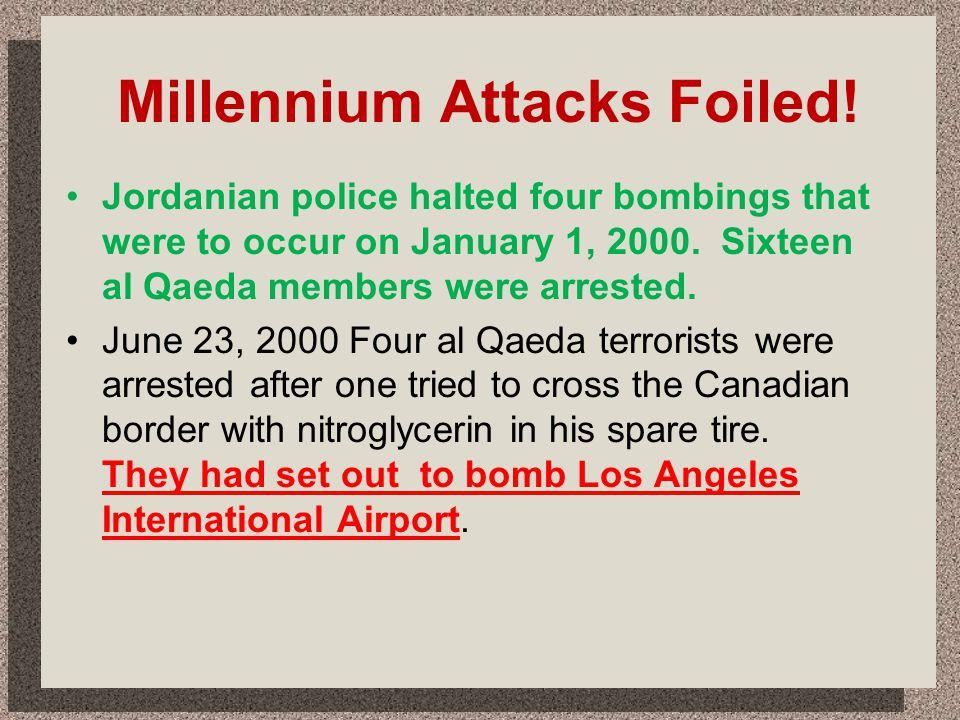 Millennium Attacks Foiled!