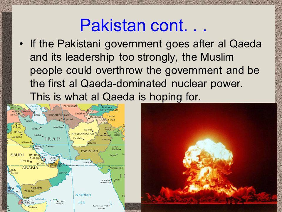 Pakistan cont. . .