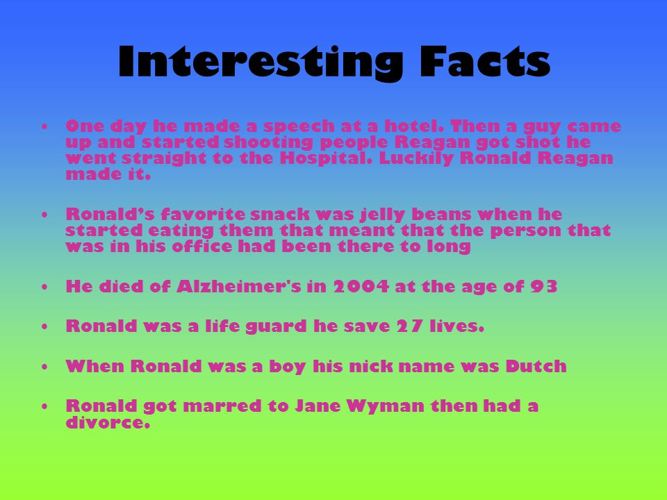 Interesting Facts
