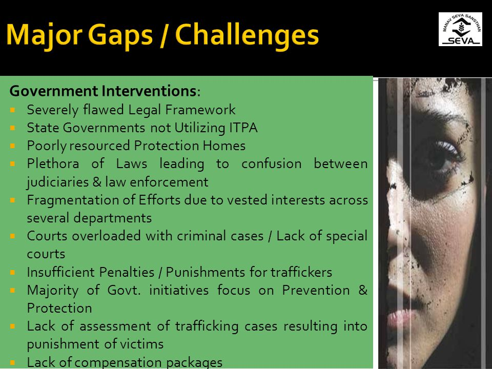 Major Gaps / Challenges
