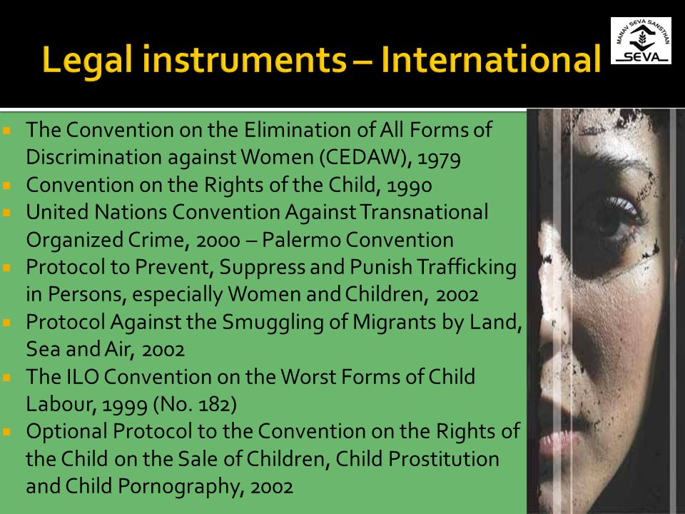 Legal instruments – International