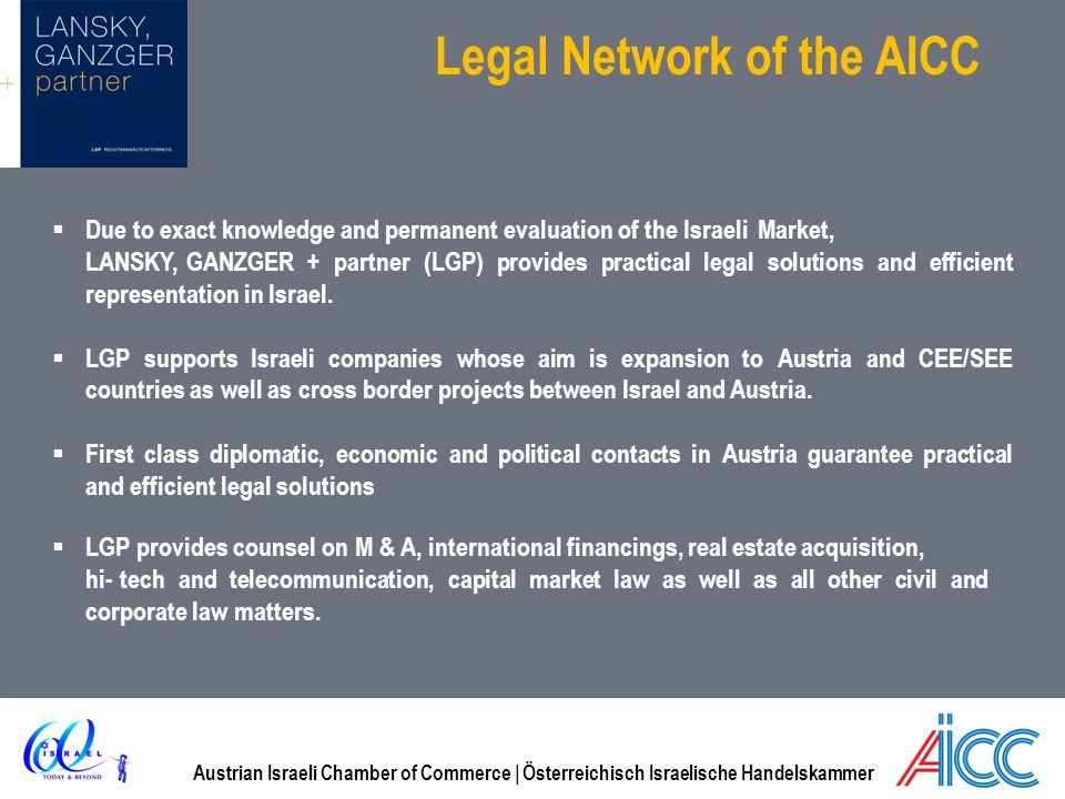 Legal Network of the AICC