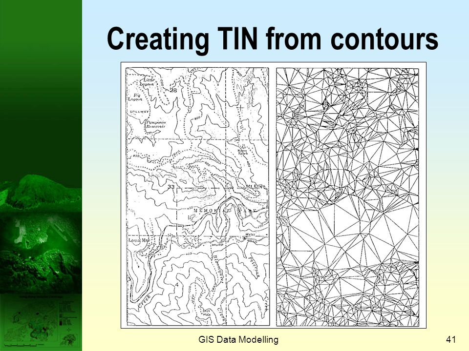 Creating TIN from contours