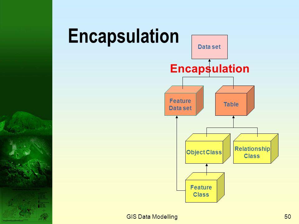 Encapsulation Encapsulation Data set Feature Data set Table