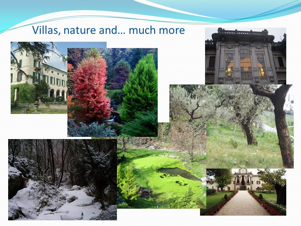 Villas, nature and… much more