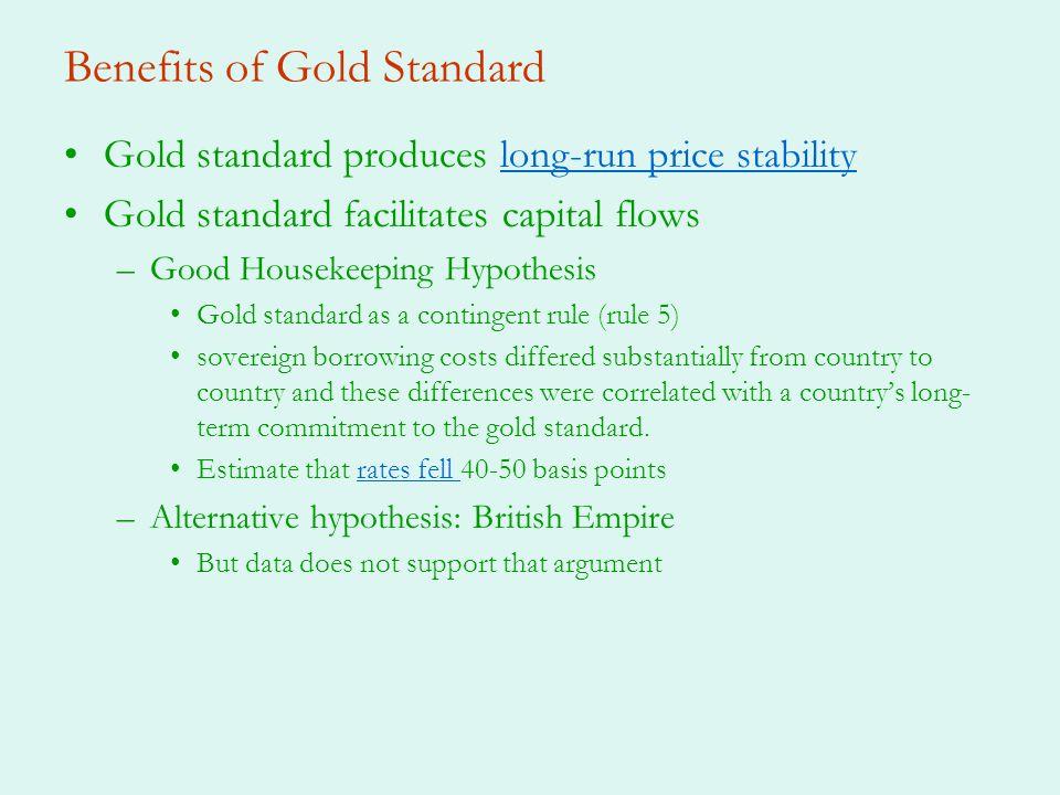 Benefits of Gold Standard