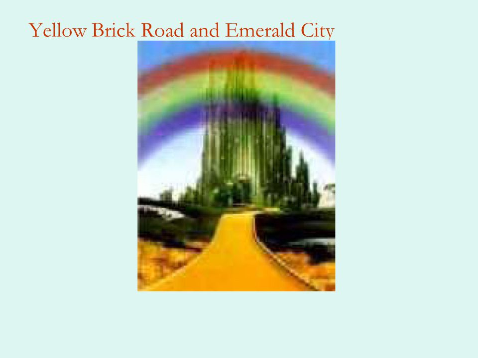 Yellow Brick Road and Emerald City