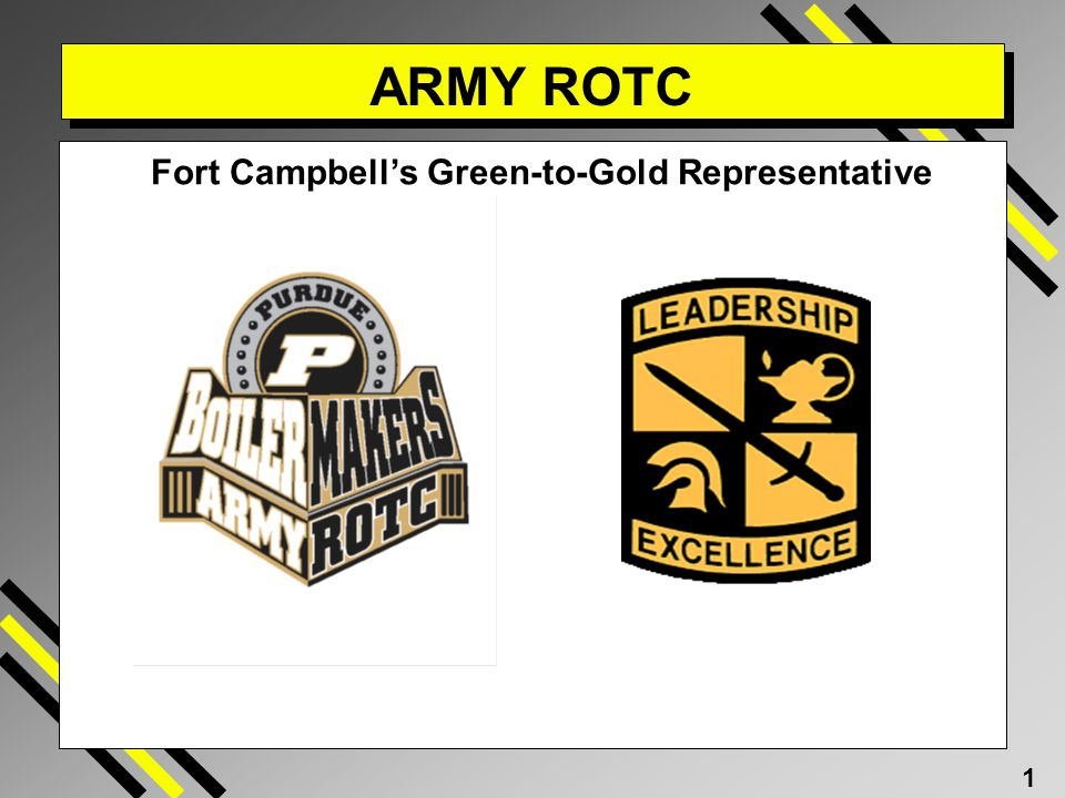 Fort Campbell's Green-to-Gold Representative