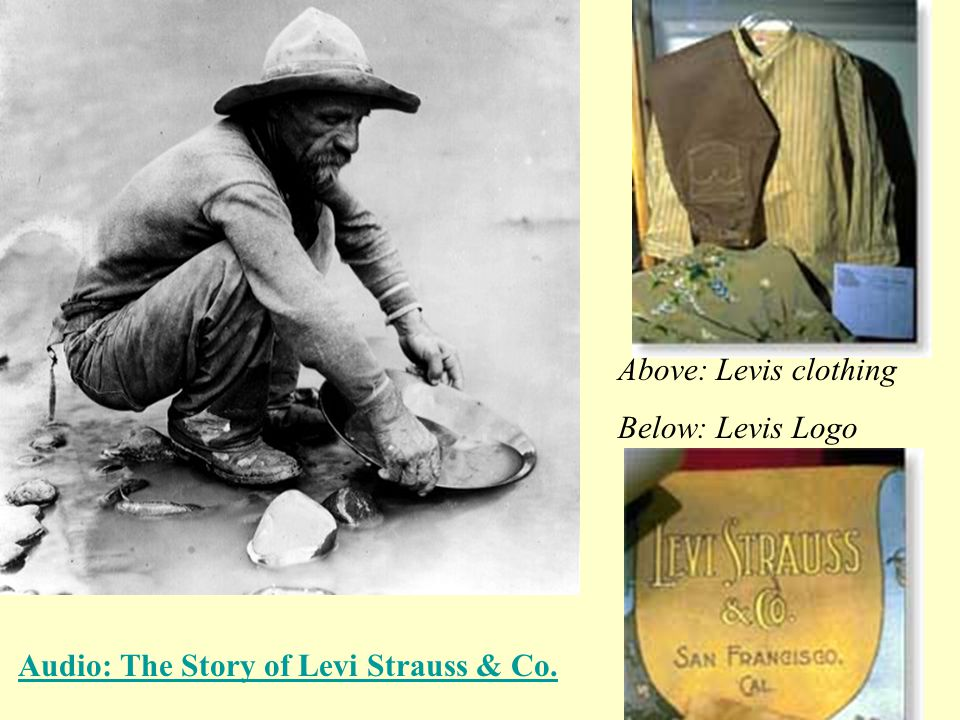 Audio: The Story of Levi Strauss & Co.