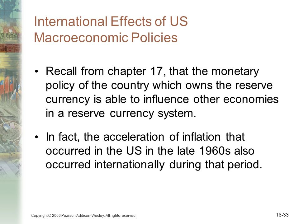 International Effects of US Macroeconomic Policies