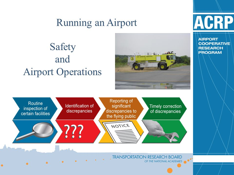 Running an Airport Safety and Airport Operations