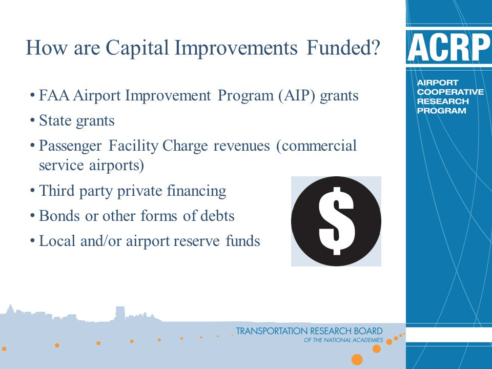 How are Capital Improvements Funded