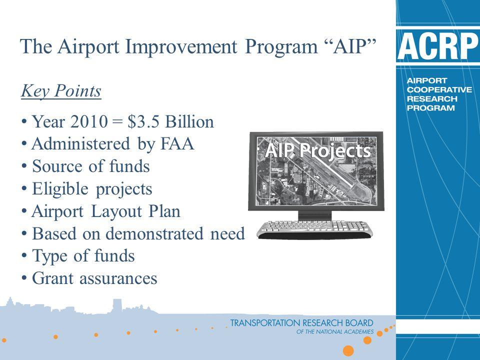 The Airport Improvement Program AIP