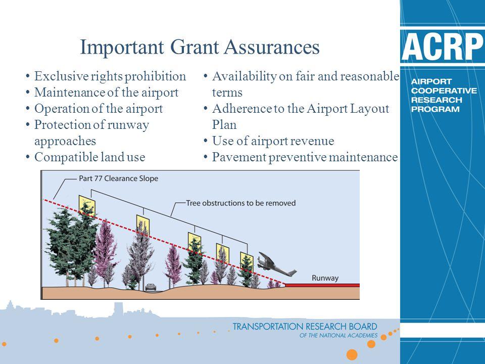 Important Grant Assurances