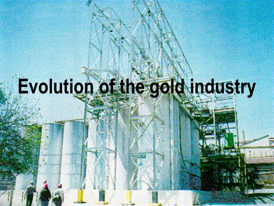 Evolution of the gold industry