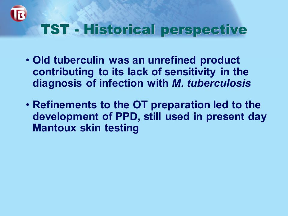 TST - Historical perspective