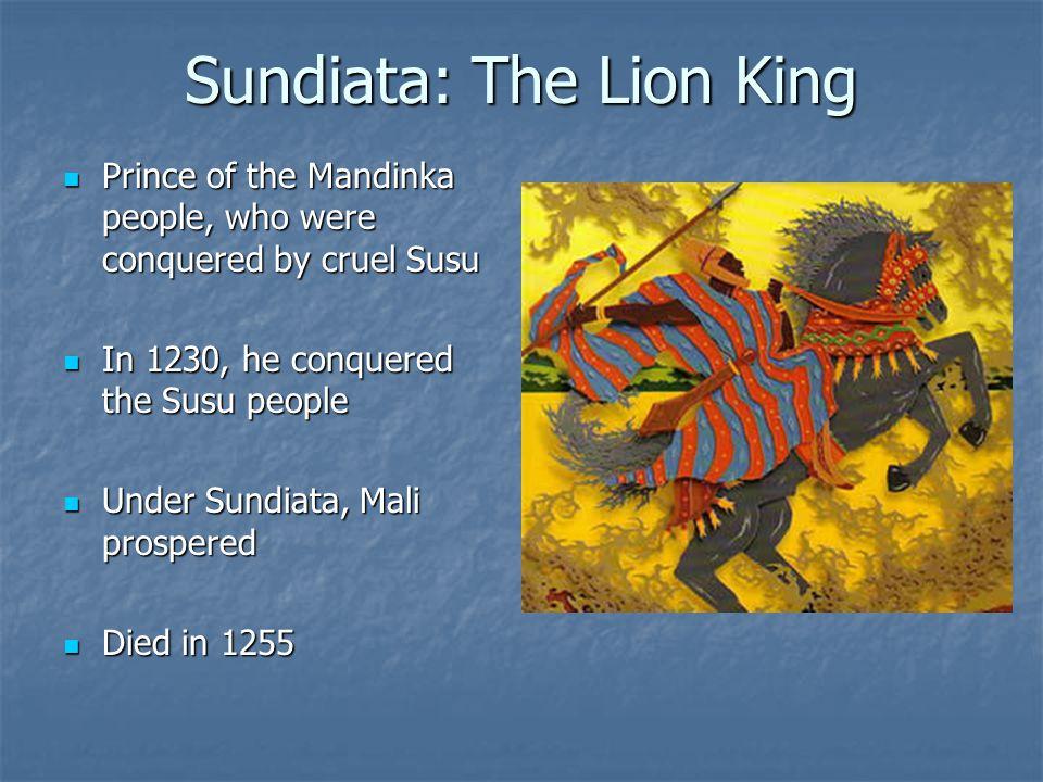 Sundiata: The Lion King