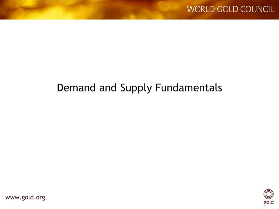 Demand and Supply Fundamentals