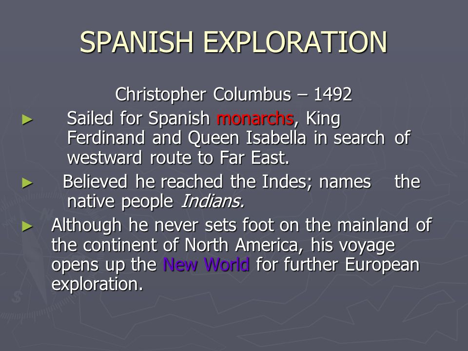 Christopher Columbus – 1492