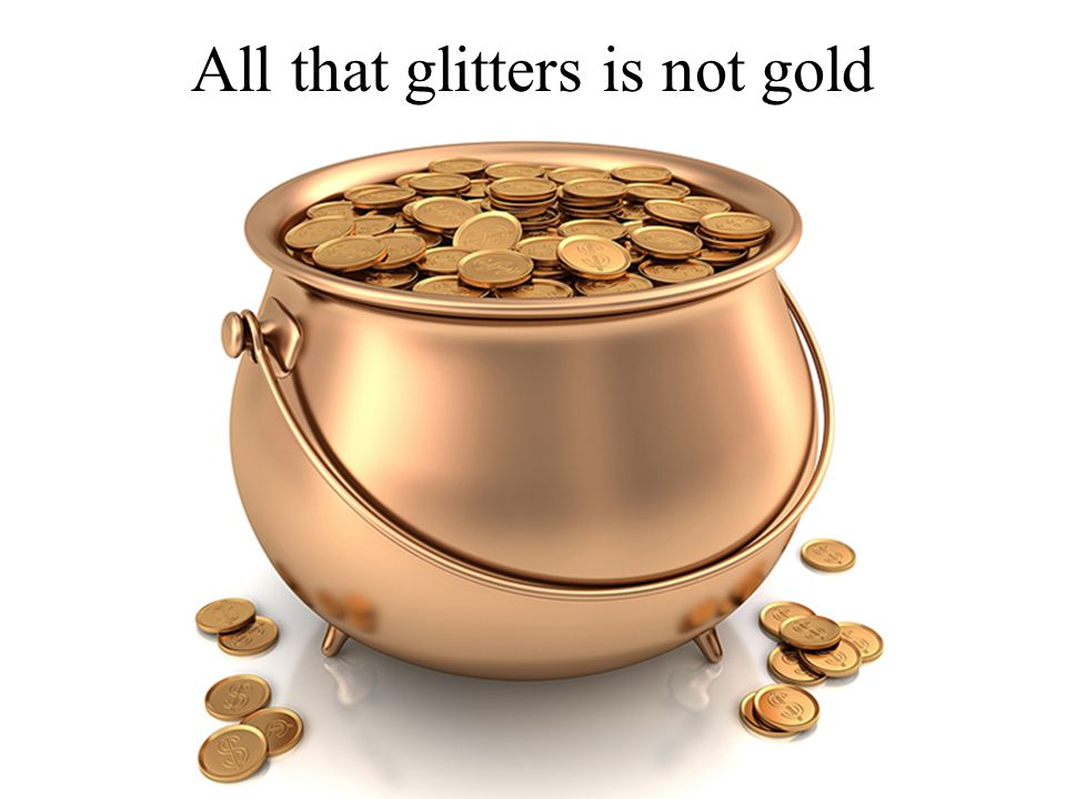 all that glisters is not gold quote