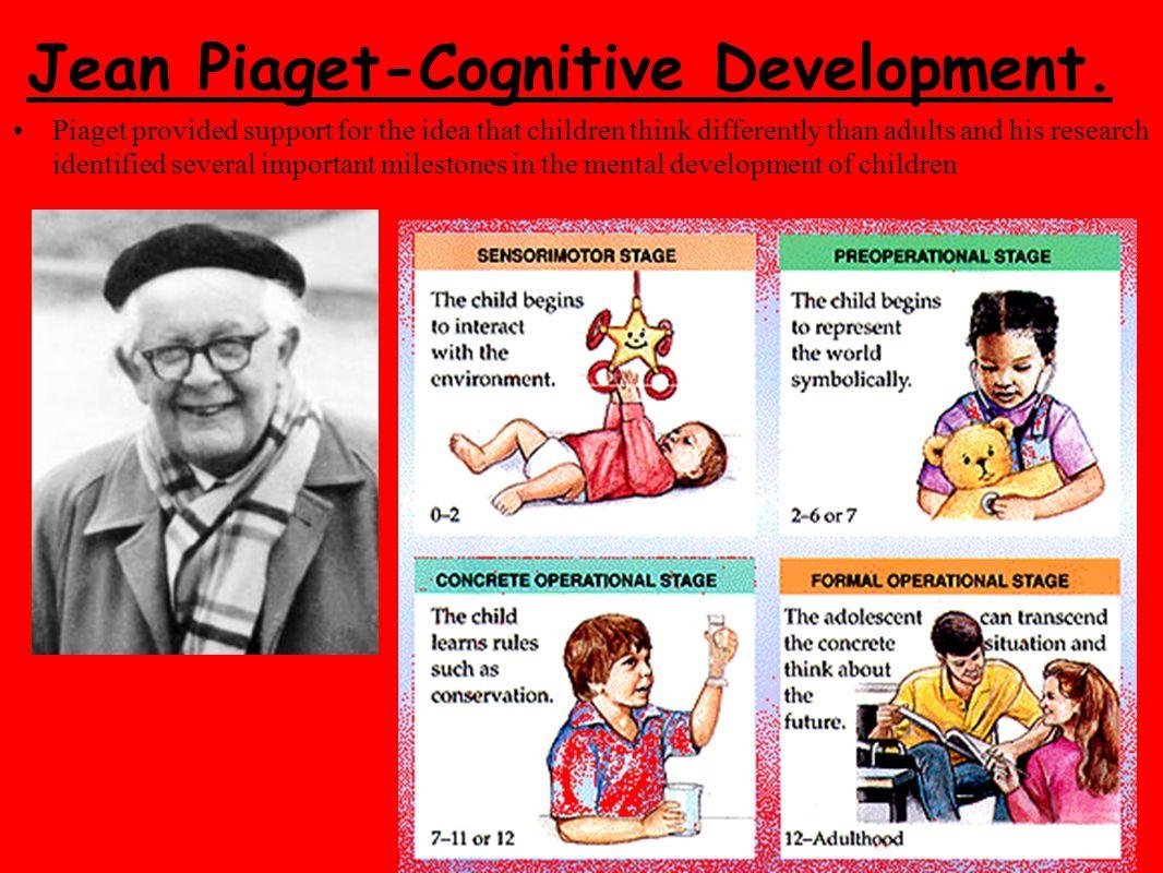 Jean Piaget-Cognitive Development.