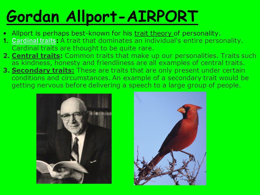 Gordan Allport-AIRPORT