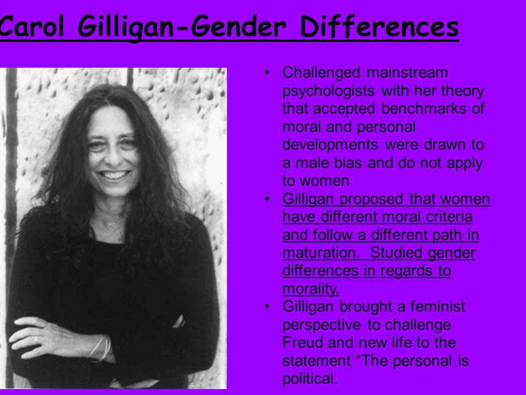 Carol Gilligan-Gender Differences