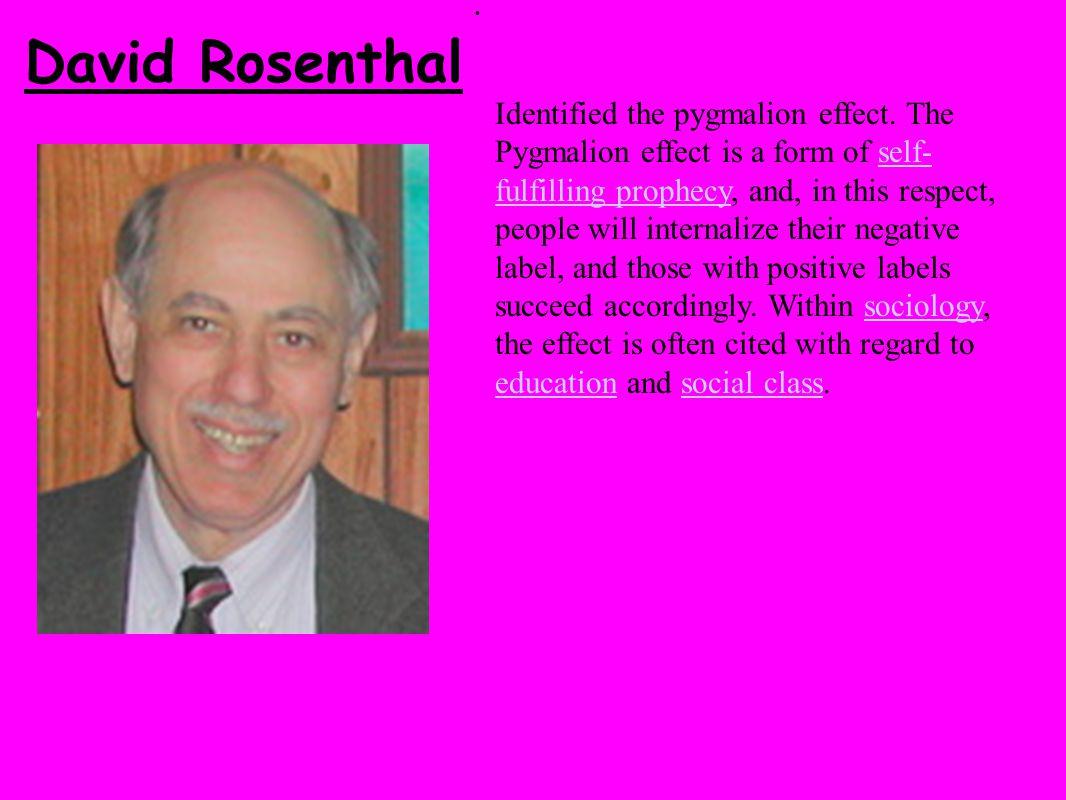 David Rosenthal.