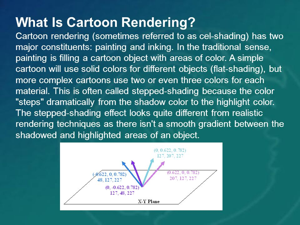 What Is Cartoon Rendering