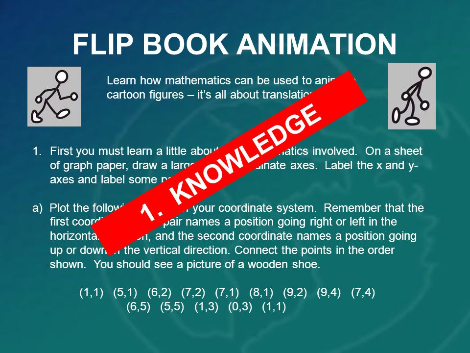 FLIP BOOK ANIMATION 1. KNOWLEDGE