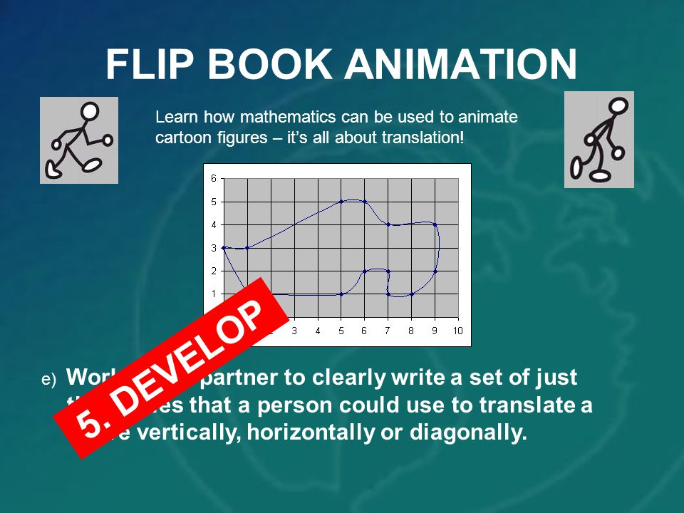 FLIP BOOK ANIMATION 5. DEVELOP