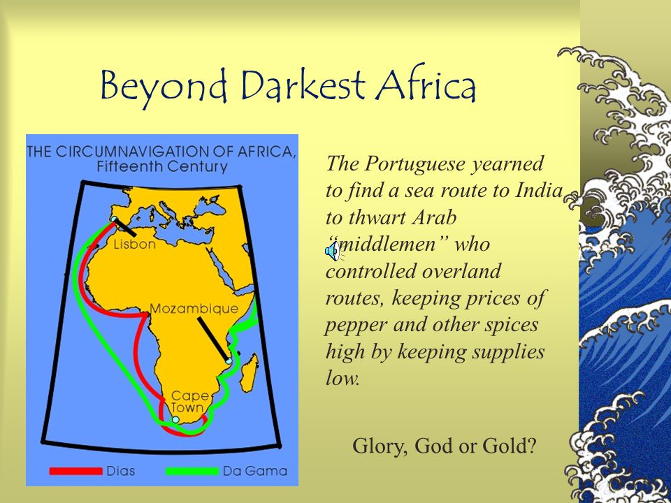 Beyond Darkest Africa