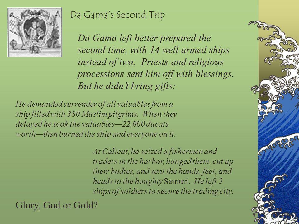 Da Gama's Second Trip