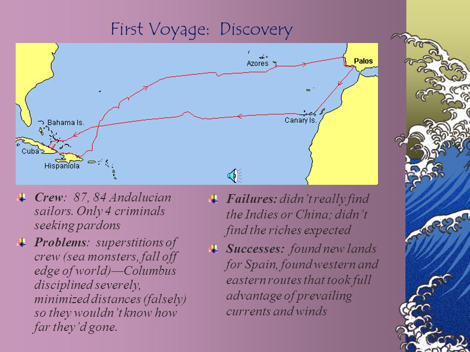 First Voyage: Discovery