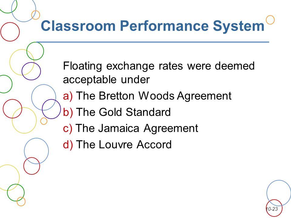 Classroom Performance System