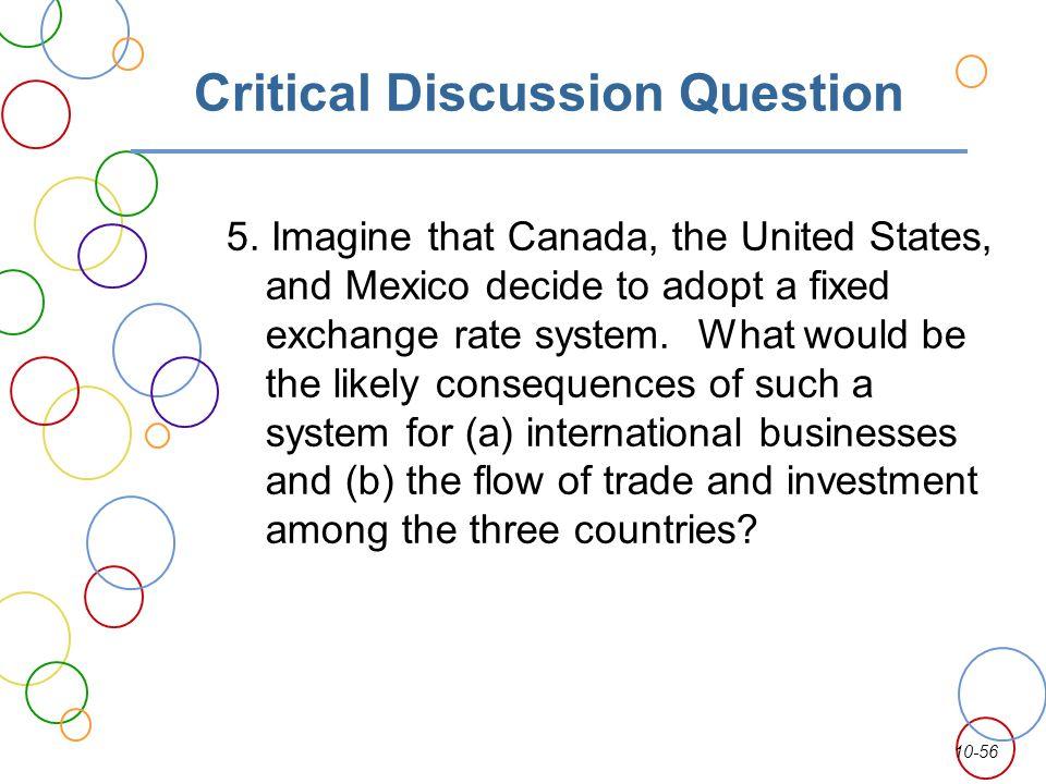 Critical Discussion Question