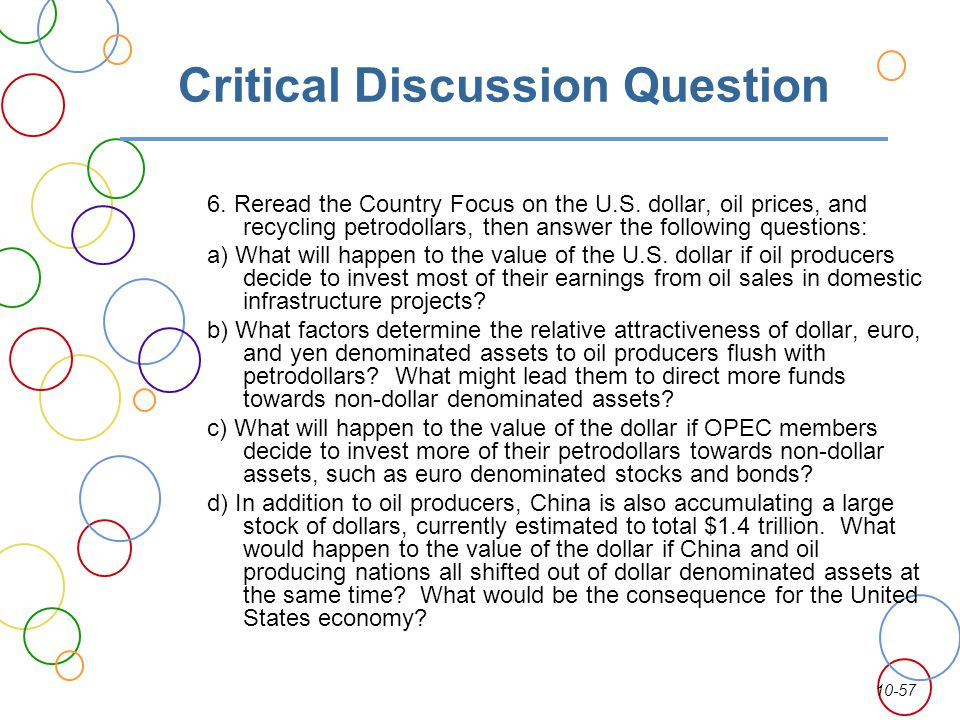 Critical Discussion Question