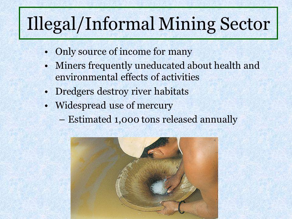 Illegal/Informal Mining Sector
